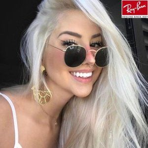 Ray Ban Round Metal Gold Frame RB3447 50mm